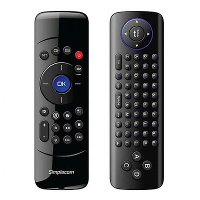 Simplecom RT200 Rechargeable 2.4G Wireless Remote Air Mouse and Keyboard Combo f