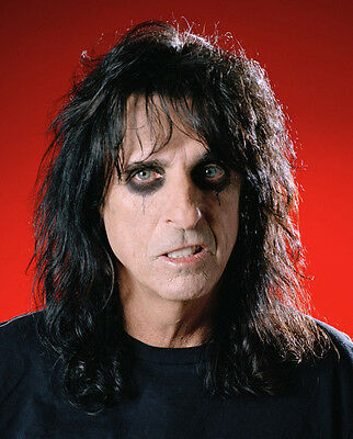 Alice Cooper  10x 8 UNSIGNED photo - P1419 - School's Out & Elected