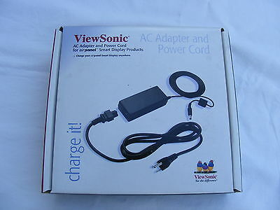 New Viewsonic Sdh-Adpt-001E Airpanel Ac Power Adapter And Power Cord