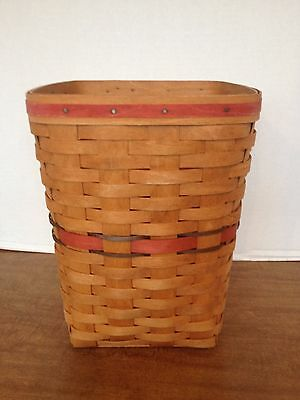 Longaberger 1990 All American Small Waste - Good Condition