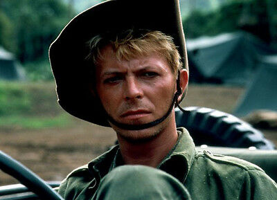 David Bowie  10x 8 UNSIGNED photo - P156 - Merry Christmas Mr. Lawrence