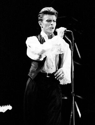 David Bowie  10x 8 UNSIGNED photo - P165 - Absolute Beginners & Sound & Vision