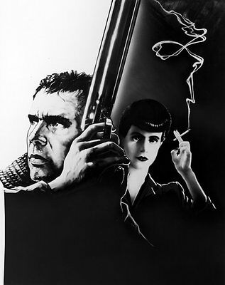 Harrison Ford & Sean Young UNSIGNED photo - P2139 - Bladerunner