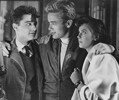 James Dean & Natalie Wood ‏ 10x 8 UNSIGNED photo - P508 - Rebel Without A Cause