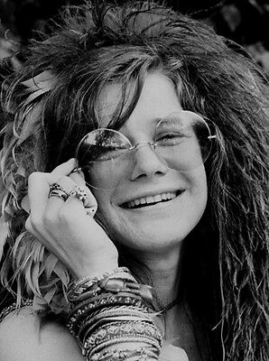 Janis Joplin 10 x 8 UNSIGNED photo - P894 -  Big Brother and the Holding Company