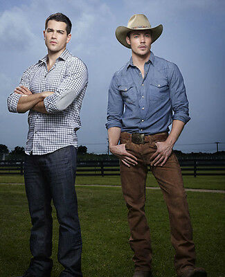 Jesse Metcalfe & Josh Henderson UNSIGNED photo - P2629 - Dallas