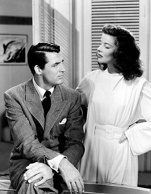 Katherine Hepburn & Cary Grant 10 x 8 UNSIGNED photo - P900