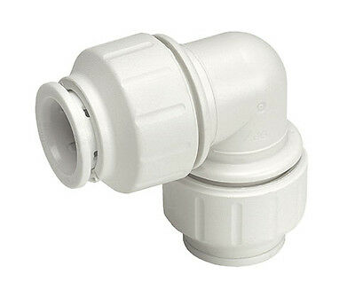 John Guest Speedfit 15mm Elbow PEM0315W | Push Fit Plastic Plumbing Fitting