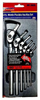 Napa 6 Pc. Metric Flexible Hex Key Set