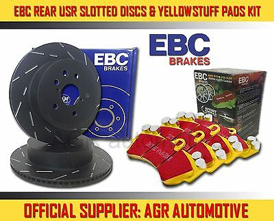 EBC REAR USR DISCS YELLOWSTUFF PADS 253mm FOR FORD FIESTA 1.6 TURBO ST 182 2012-