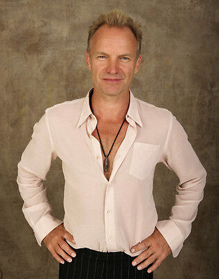 Sting UNSIGNED photo - P2773 - Singer & Actor