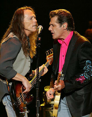 The Eagles ‏ 10x 8 UNSIGNED photo - P407 - Glenn Frey & Timothy B. Schmit