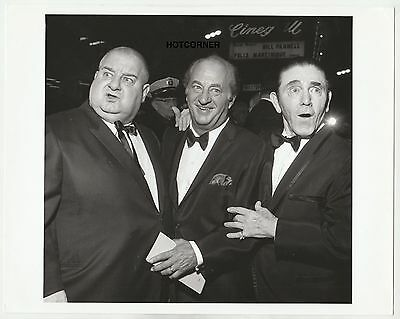 1970's Original 8X10 Photo The Three Stooges One Of Their Last Photos Together