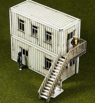 Proses LS-005 NEW LASER CUT CONTAINER OFFICES (2 CONTAINERS) OO SCALE