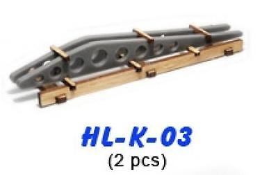 Proses HL-K-03 NEW 2 X AIRCRAFT WING RIBS