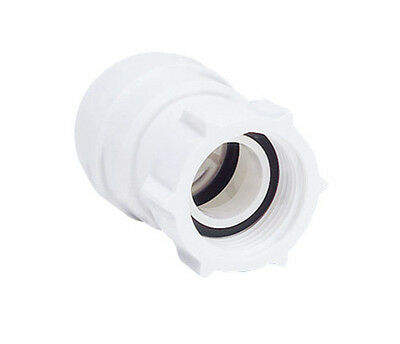 John Guest Speedfit 15mm Tap Connector PSE3201W | Push Fit Plumbing Fitting