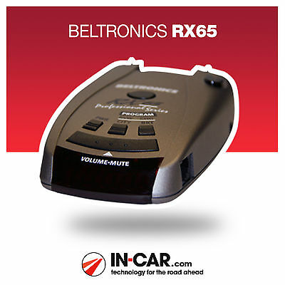 New Beltronics RX65 Radar and Laser Speed Camera Detector