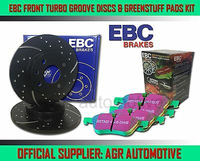 EBC FRONT GD DISCS GREENSTUFF PADS 247mm FOR PEUGEOT 309 1.4 1991-94 OPT2