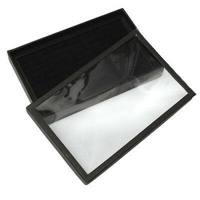 100x Ring Jewellery Display Storage Box Tray Show Case Organiser Earring Holder