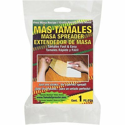Tamales Masa Spreader (colors may vary) by Mex-Sales Inc Package Quantity: 1 AOI