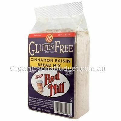 Bob's Red Mill Gluten Free Cinnamon Raisin Bread Mix 623g