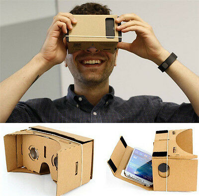 Google Cardboard 3D Virtual Reality Glasses Mobile Phone 3D Viewer Glasses