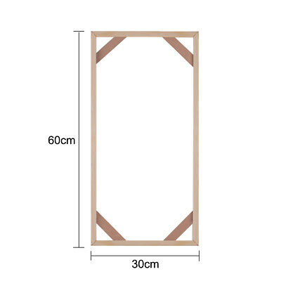 NEW Wooded Frame Canvas Stretcher Stretching Strips For Canvas Print 30*60cm