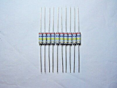 680 Ω Ohm 1W Carbon Film Resistor 10 Pcs.