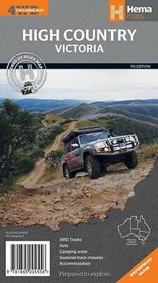 High Country Victoria Map - Hema Maps