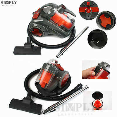 2800W 3000W Bagless Cyclone Cyclonic Vacuum Cleaner Non HEPA Filtration System