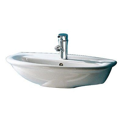 Barclay Barclay 4-811WH Karla White Karla Wall-Hung Basin 1 Hole New