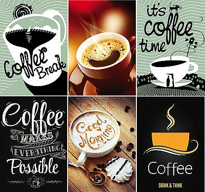 Coffee Posters And Coffee Pictures Up To A1 Size,  Frames Available