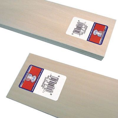 Basswood Sheet 0.15 x 7.62 cm Carving Painting Model Making Crafting Woodworking