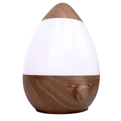 Ultrasonic Cool Mist Air Humidifier 2.3L Dark Wood Shopiverse Deal