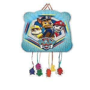 PAW PATROL Party Small Pull String Bag Piñata Vineta - Matching Items in My Shop