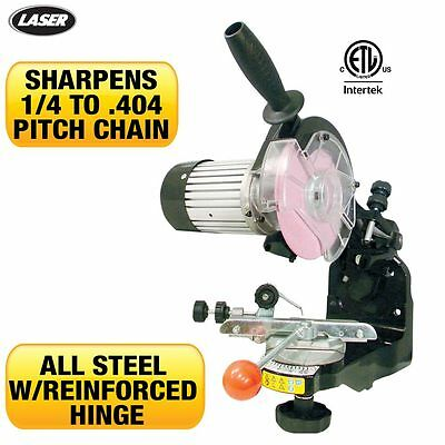 Electric Chainsaw CHAIN GRINDER SHARPENER Comes with 2 wheels and tools