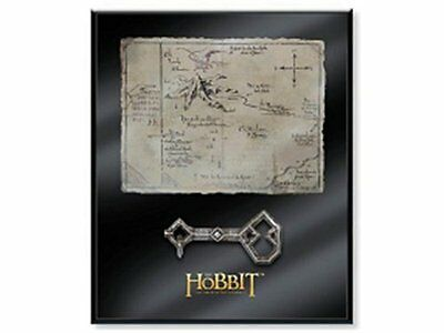 """Thorin Oakenshield's 8 X 10""""Map & Key Noble Collection"""