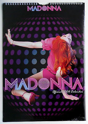 Madonna * Official Danilo 2006 Calendar * Still Sealed! * Confessions Era