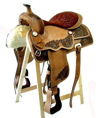 Western saddle Buffalo leather DALLAS New