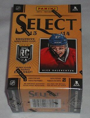 Panini Select 13 14 Nhl Hockey Trading Cards 2 Pack Box New & Sealed