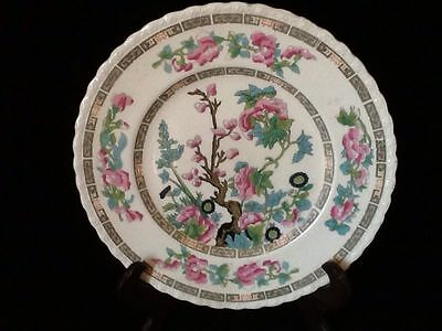 """Crown Clarence Staffordshire Indian Tree / Chinese Bird 9"""" Plate"""