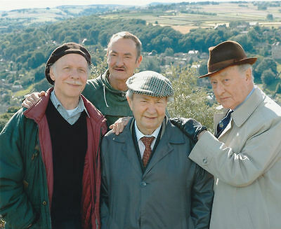 Brian Murphy & Peter Sallis Unsigned Photo - 2450 - Last Of The Summer Wine