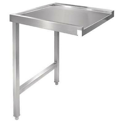 Pass Through Dishwash Table, Left, Stainless Steel, 1100mm, Commercial Kitchen