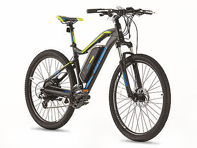 GREENWAY electric mountain bike, Samsung cell lithium battery LCD, PAS system