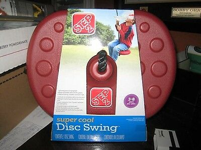 STEP 2 SUPER COOL OUTDOOR DISC SWING WITH 7' ROPE NEW 801600 (3 to 8 years)
