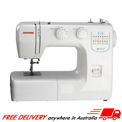Janome JR1012 Sewing Machine + BONUS - A Great Sewer for Everyday Use