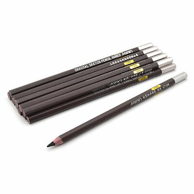 14B Carbon Black Pencil Charcoal Drawing Sketch Artist Paint Craft Professional