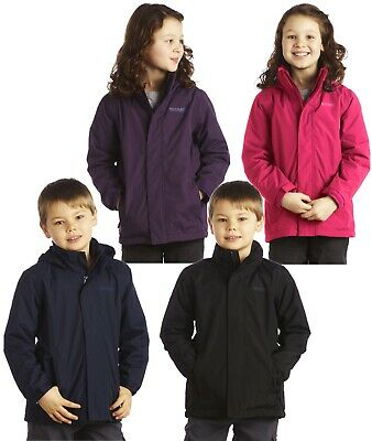 Regatta Westburn II Kids Waterproof Fleece Lined School Coat