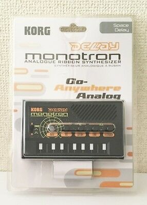 F/S NEW KORG monotron DELAY Analog Ribbon Synthesize from JAPAN