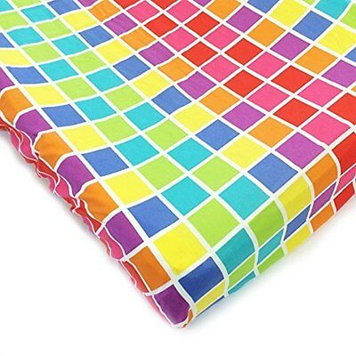 One Grace Place 10-34035C Terrific Tie Dye Changing Pad Cover Squares NEW